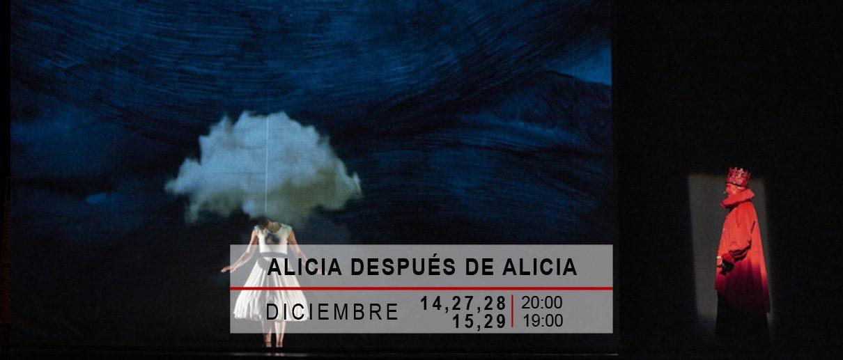 ALICIA DESPUÉS DE ALICIA