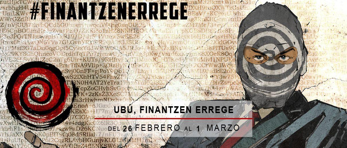 Ubu, finantzen errege